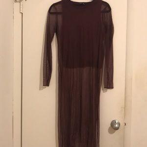 Zara very cool top with mesh size medium!!!!
